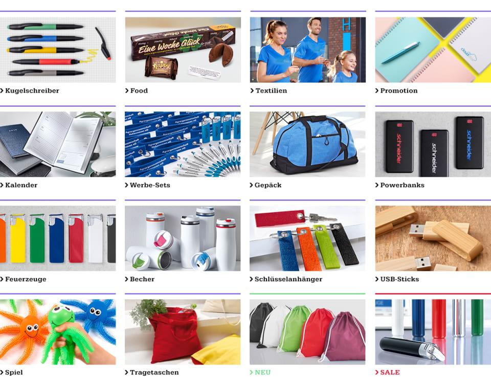 cad2041e52 Werbeartikel online bestellen bei Schneider